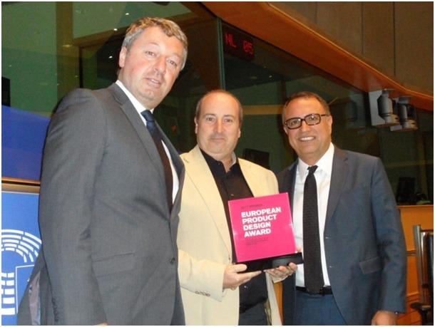 Marc Samson, del clúster ACTinn d'Andorra, premiat als Product Design Awards