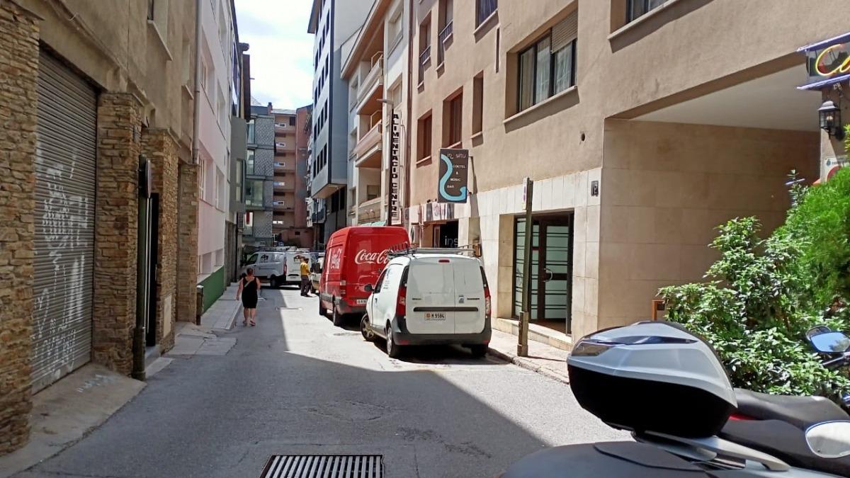 Situació del carrer La Llacuna avui.