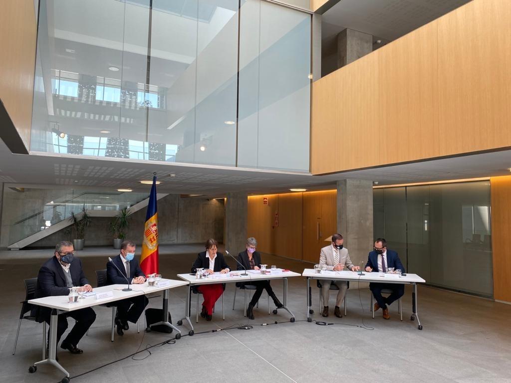 El comitè rector d''Andorra, reptes de futur' en la presentació de la iniciativa el setembre passat