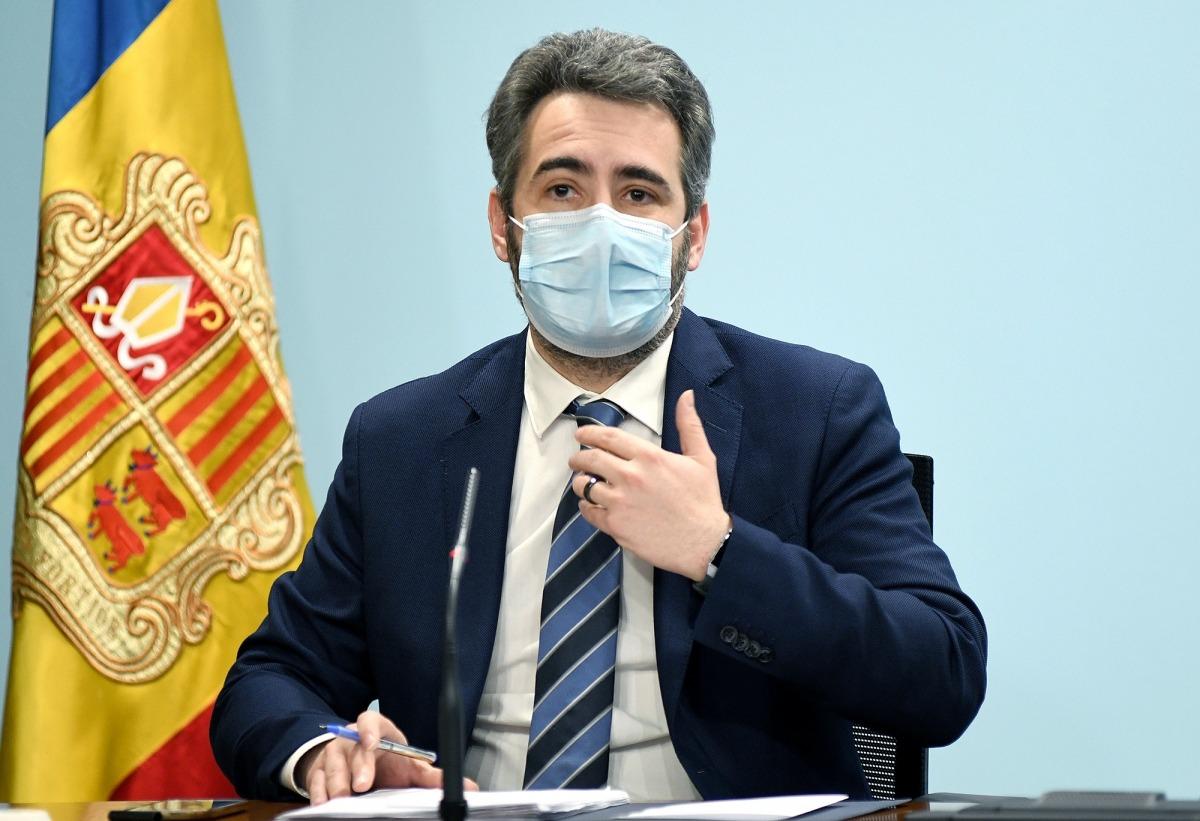 El ministre de Finances, Eric Jover, signarà el CDI amb San Marino la setmana vinent.