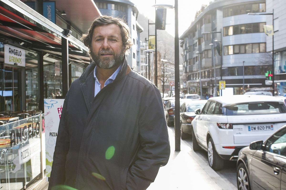 El president de l'Associació de Comerciants Fener Boulevard, Joan Babot.