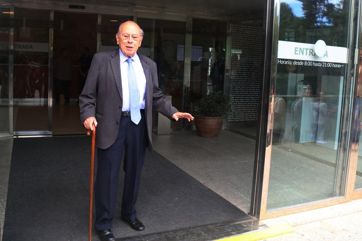 Jordi Pujol Soley en una imatge de l'octubre del 2018.