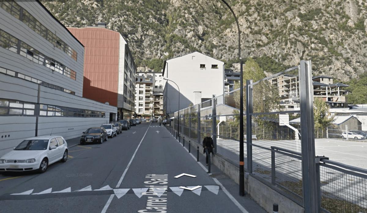 Les pistes de bàsquet s'ubicaran davant l'escola andorrana de Santa Coloma.