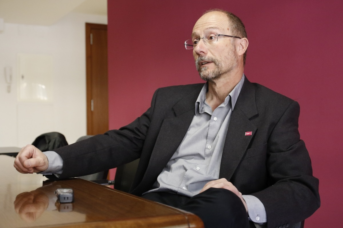 El conseller general de SDP, Víctor Naudi.