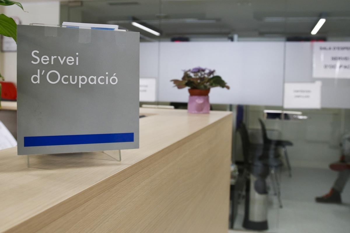 Interior del Servei d'Ocupació