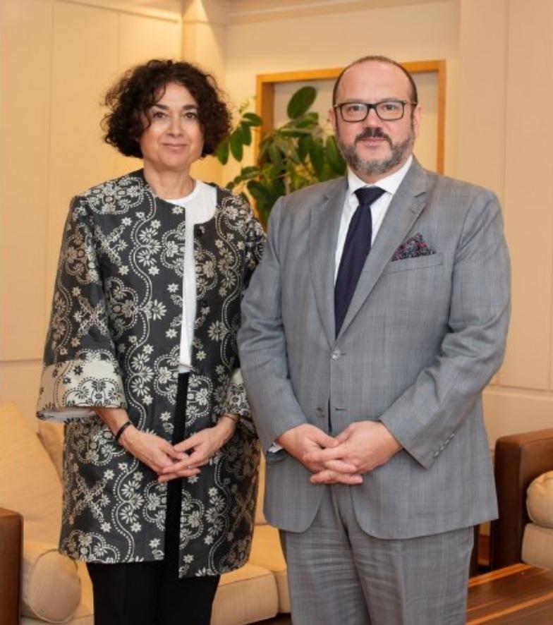 Esther Rabasa i Bernard Quintin.