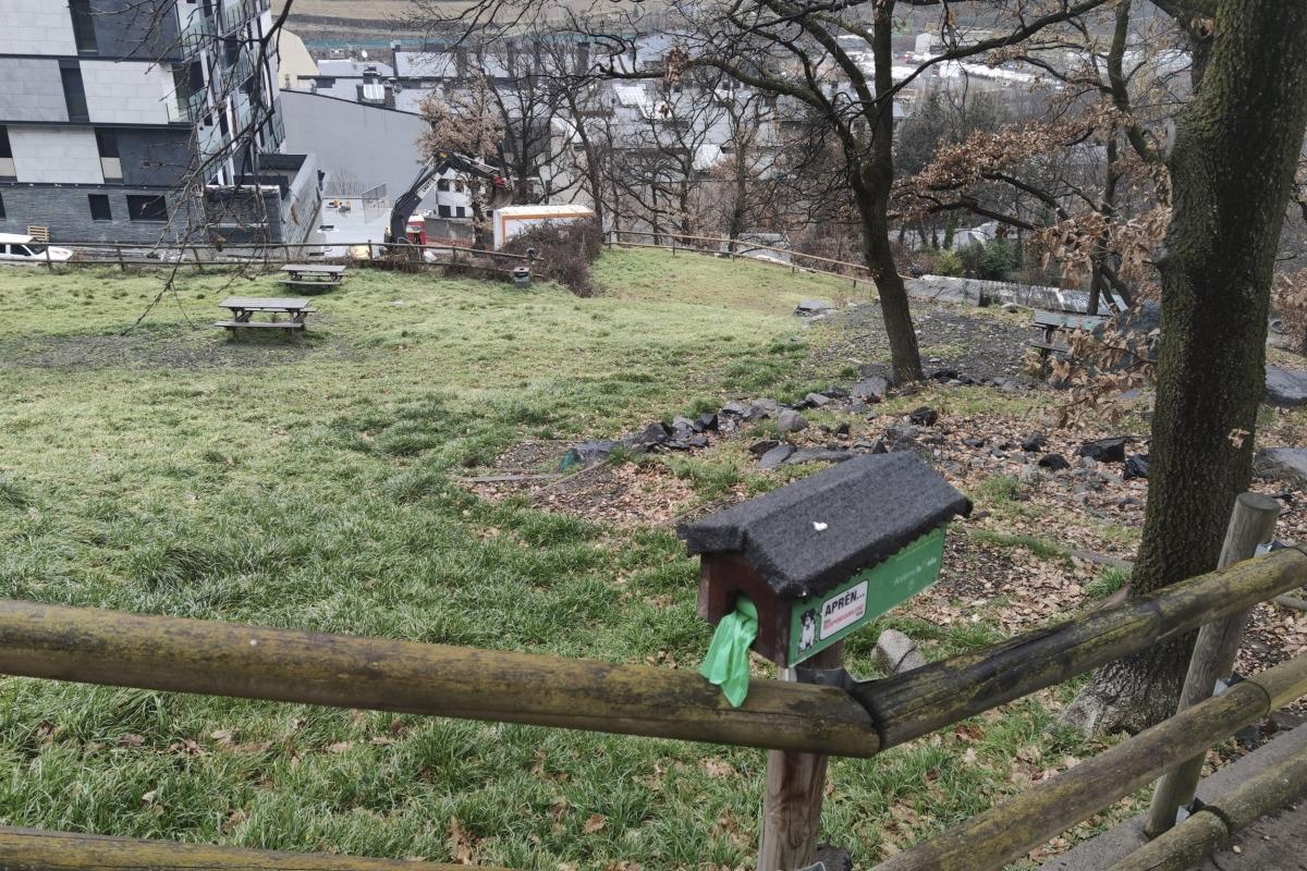 El berenador es transformarà en un parc per a gossos.
