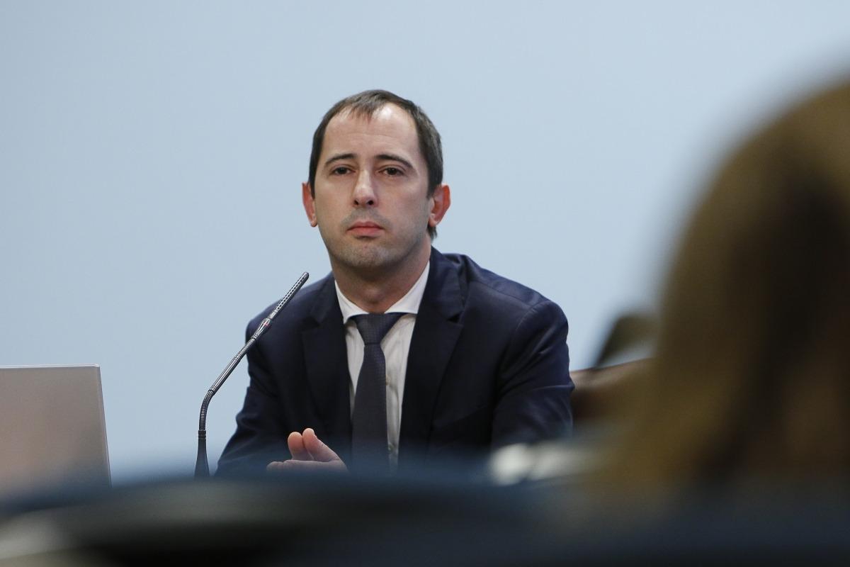 Carles Miquel, director de l'Oficina de l'Energia i el Canvi Climàtic, ahir.