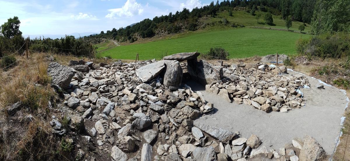 Andorra, Bescaran, dolmen, arqueologia, jaciment, cromlec, la Llosa, Regirarocs, Gerard Remolins