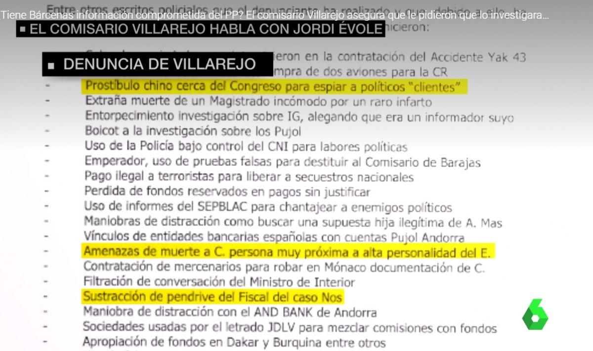 """Villarejo diu que BPA va ser utilitzat com a """"esquer"""" per ocultar diners"""