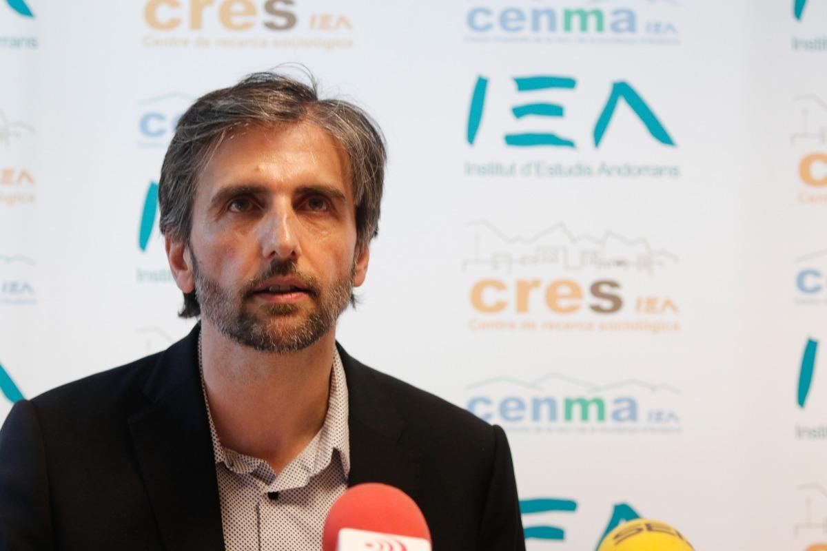 El director del CRES, Joan Micó.