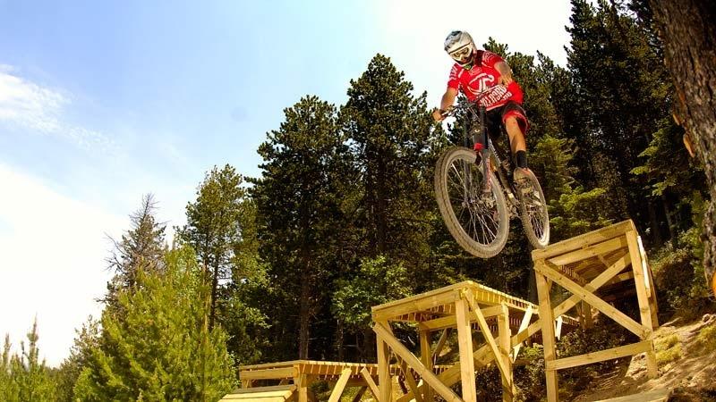 El Bike Park la Massana compta amb 29 circuits diferents.