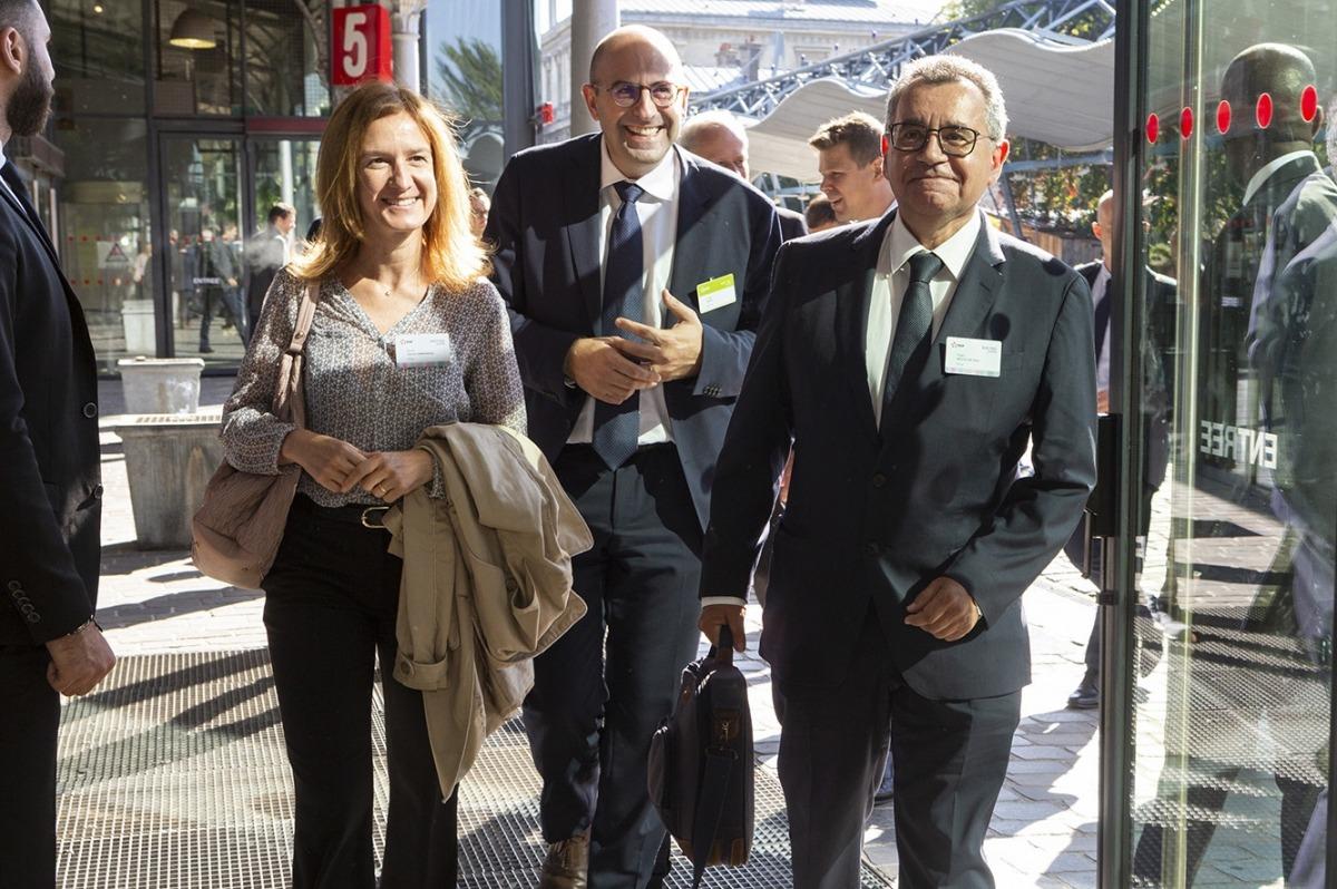 Calvó i Moles es van reunir amb la ministra espanyola Teresa Ribera, ahir.
