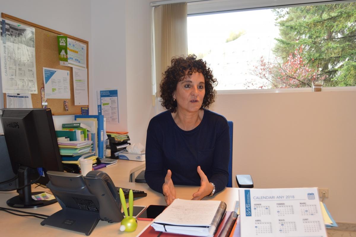 La coordinadora d'atenció primària, Anna Xandri.