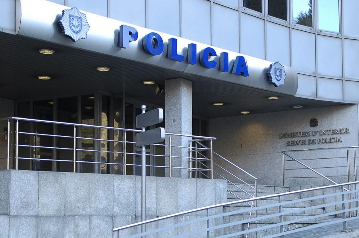 Imatge d'arxiu del despatx de policia.