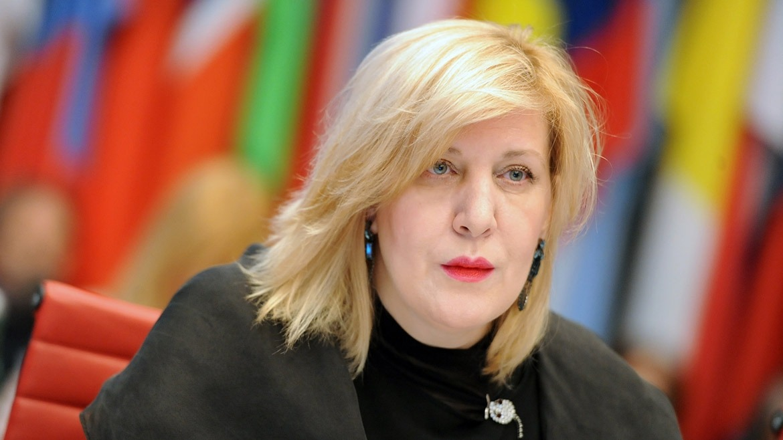 La comissària europea de Drets Humans, Dunja Mijatovic.