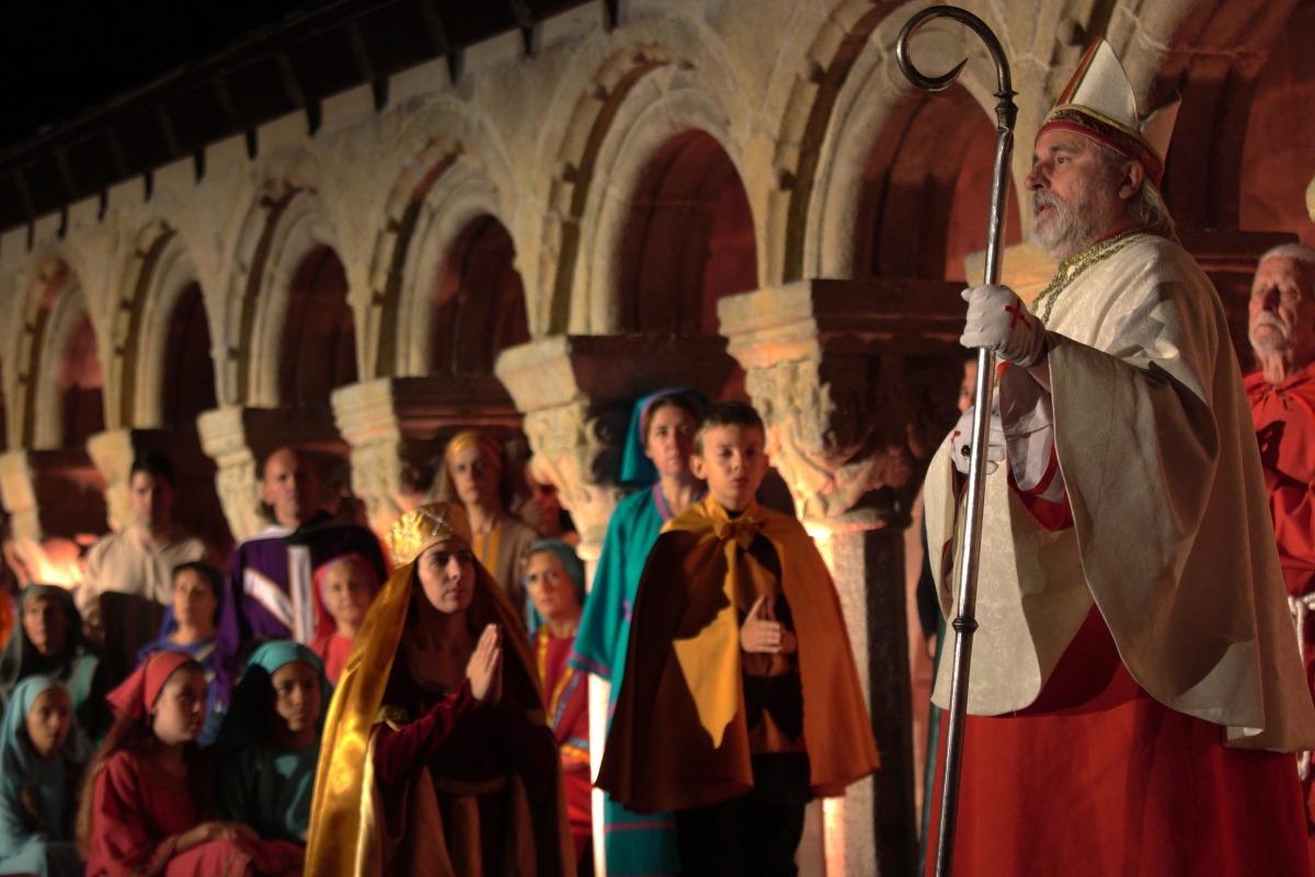 El 'Retaule de Sant Ermengol' tanca amb mil espectadors d'assistència