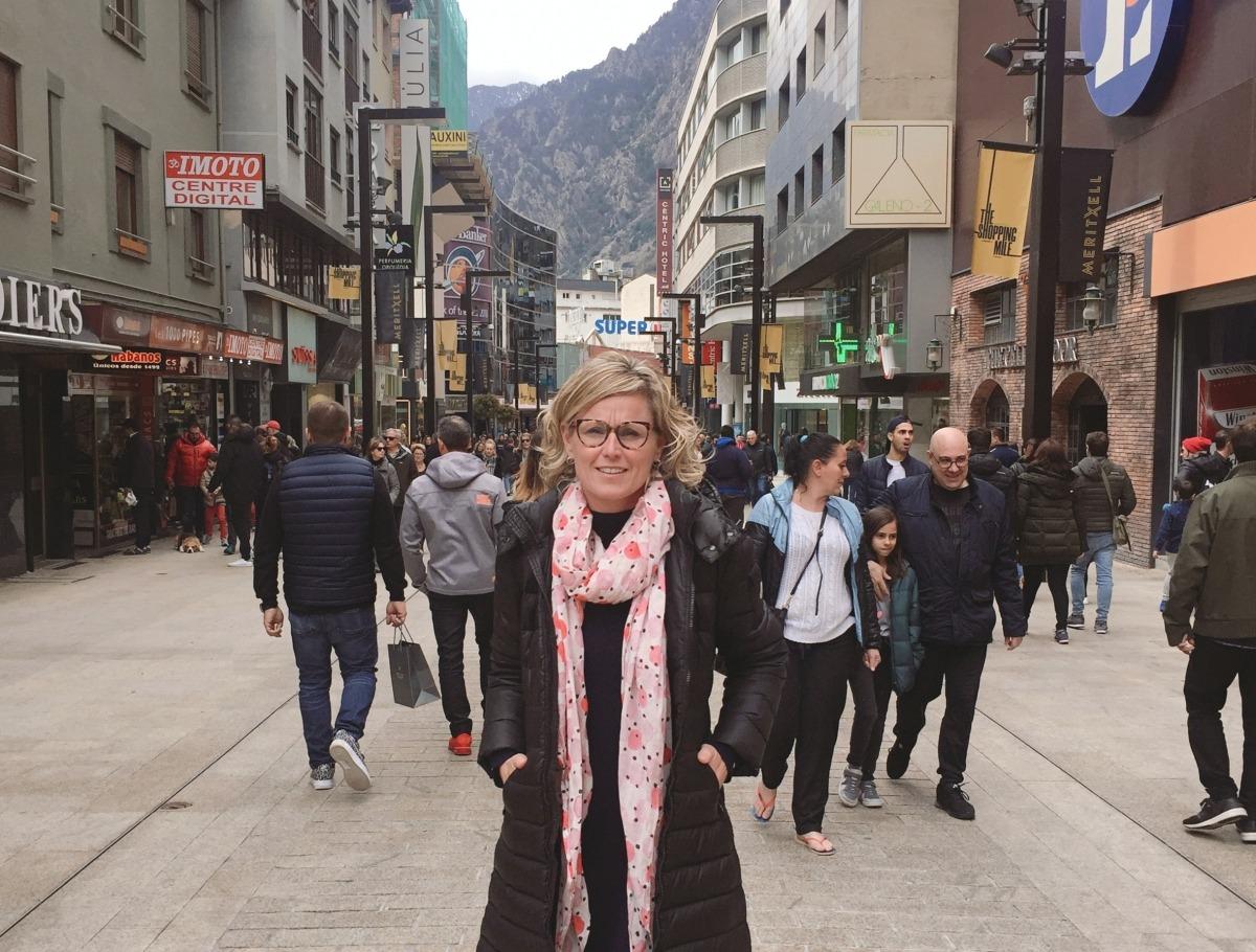 La candidata del PSC al Congrés dels Diputats per Lleida, Montse Mínguez.