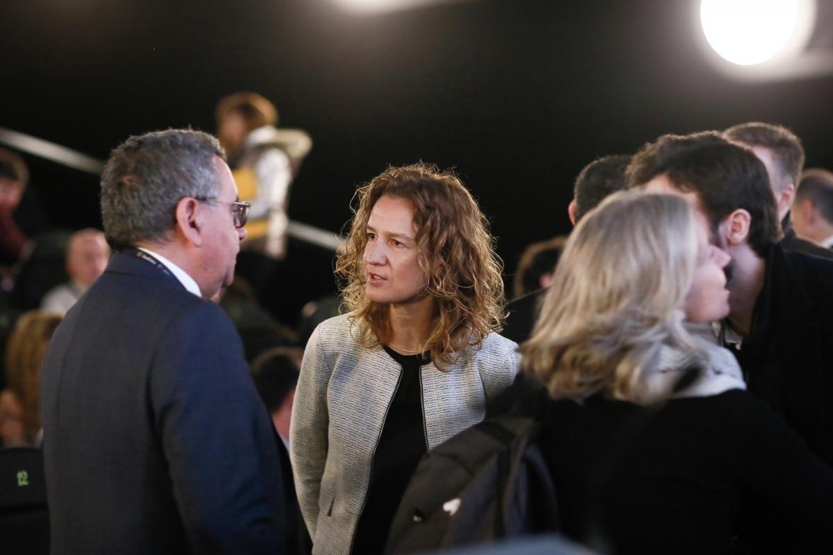 La ministra Sílvia Calvó va ser l'encarregada d'inaugurar la 3a edició d'Inntec.