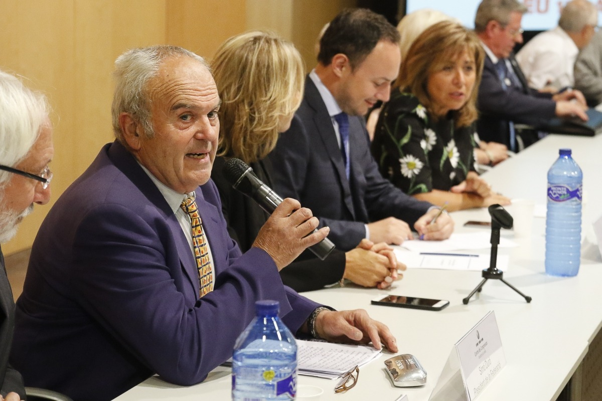 Simó Duró és president de la Federació de la Gent Gran.
