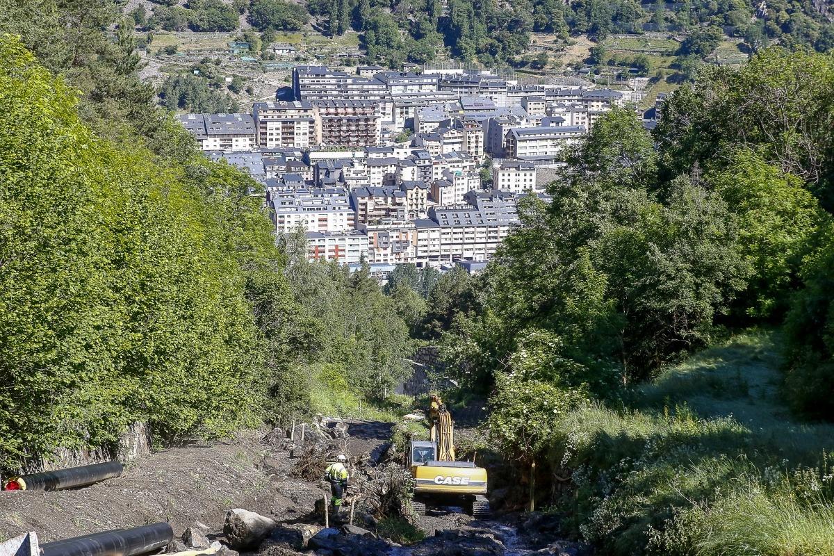 Comencen les obres de la xarxa de calor urbana d'Andorra la Vella