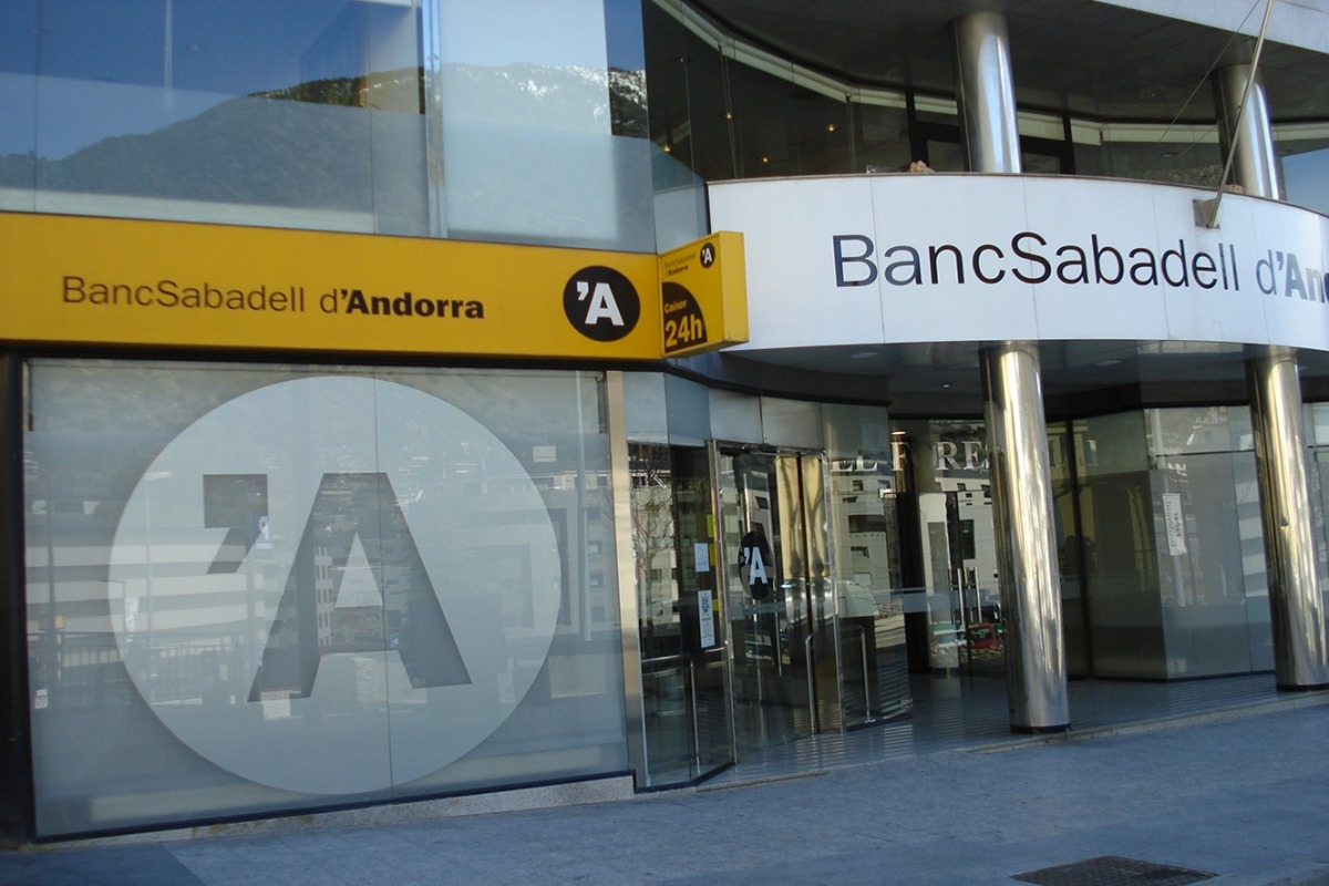 La seu central de BancSabadell d'Andorra.