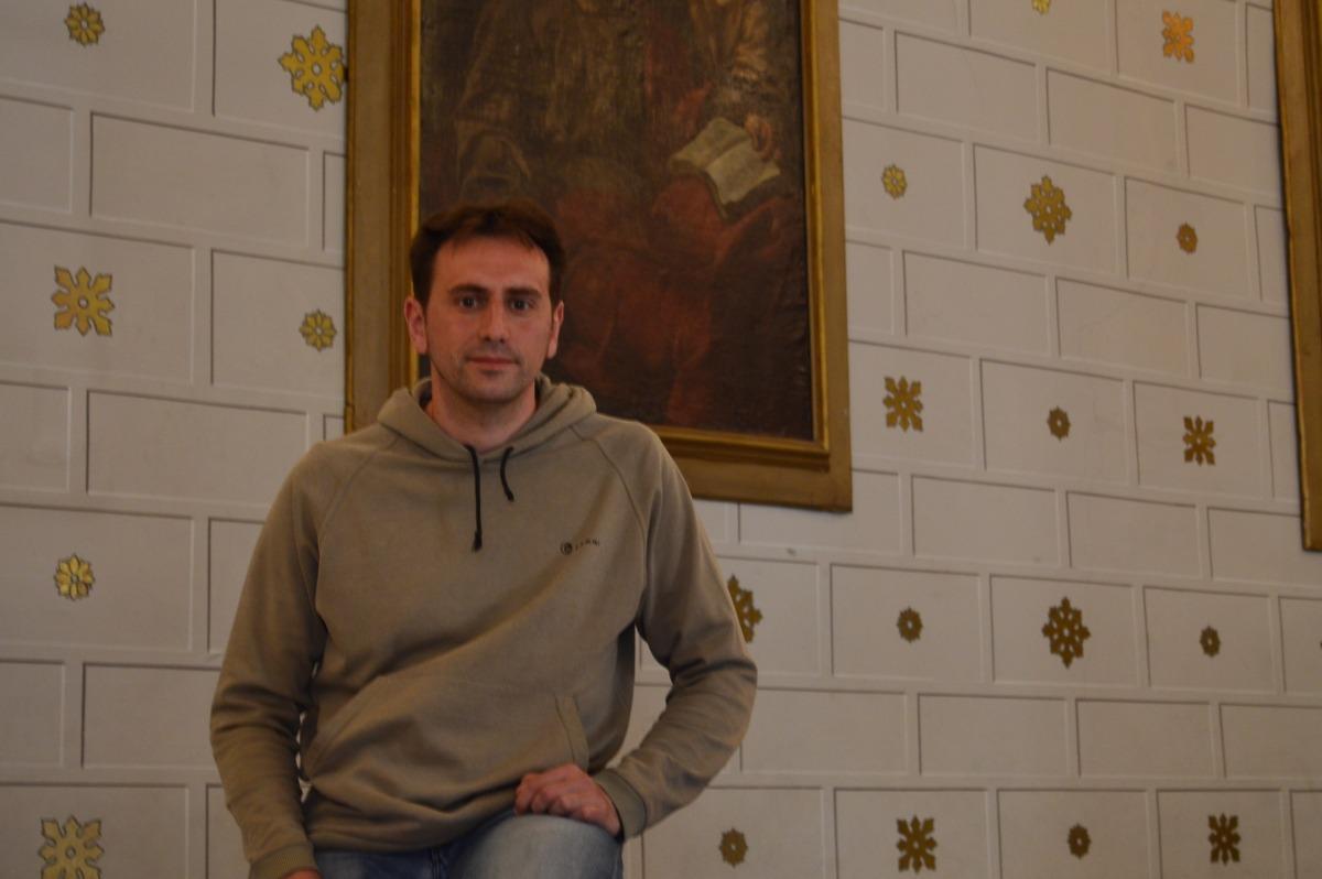 El regidor de Cultura de l'Ajuntament de la Seu, Carles Guàrdia.
