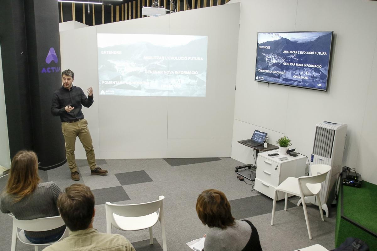 Ahir es va presentar el primer Data Hub nacional d'Andorra.