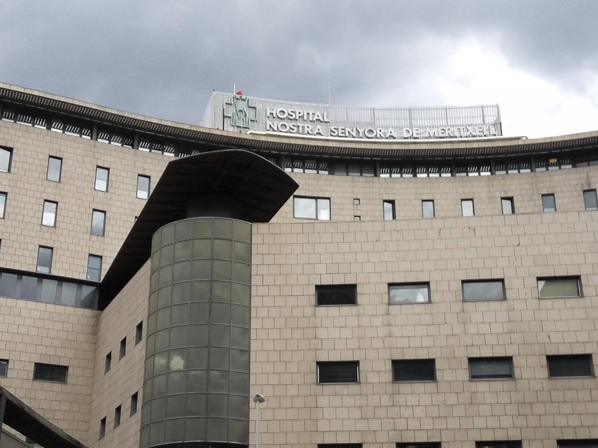 L'UCI de l'hospital acull 10 pacients, tots ells intubats i ventilats mecànicament.