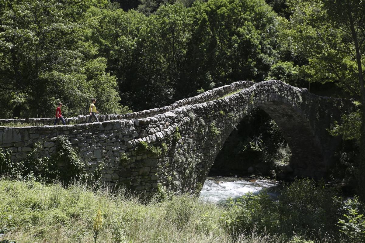 Els treballs licitats pel Govern actuaran sobre la base dreta del pont per reforçar-lo.