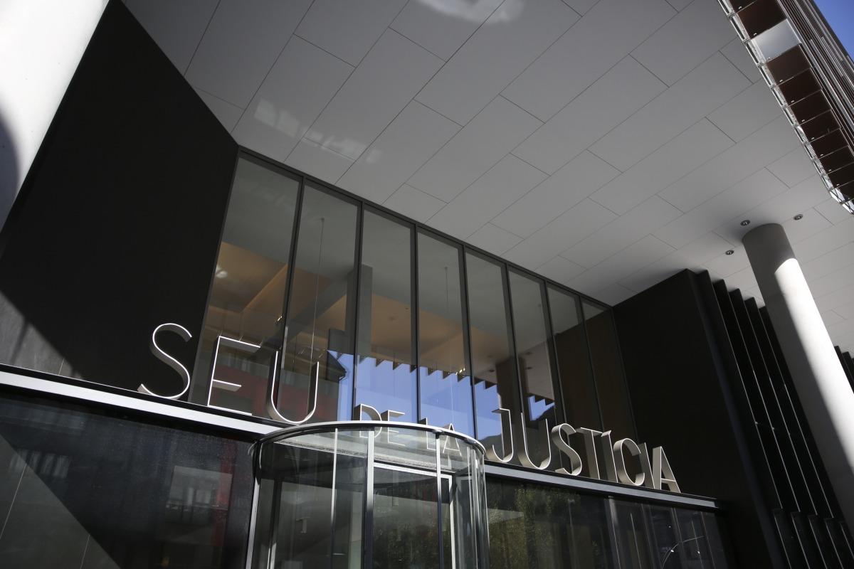 Façana de la Seu de la Justícia.