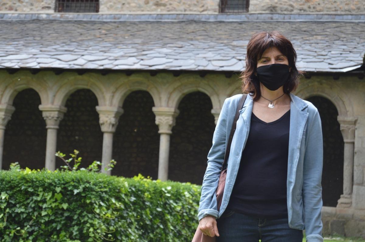 La directora tècnica del Museu Diocesà de l'Alt Urgell, Clara Arbués.