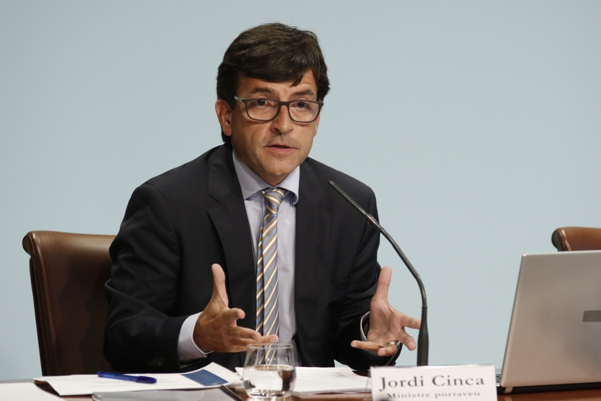 Visita d'una delegació del Banc Mundial per l'estudi nacional de riscos