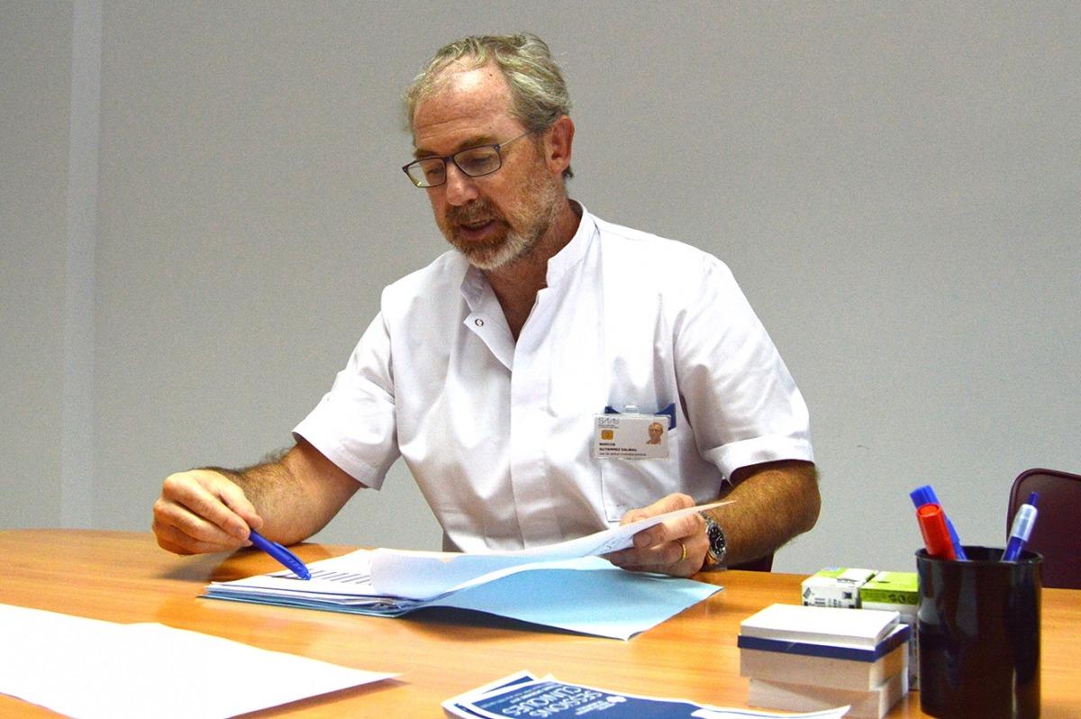 El cap d'Urgències de l'hospital Nostra Senyora de Meritxell, Marcos Gutiérrez.