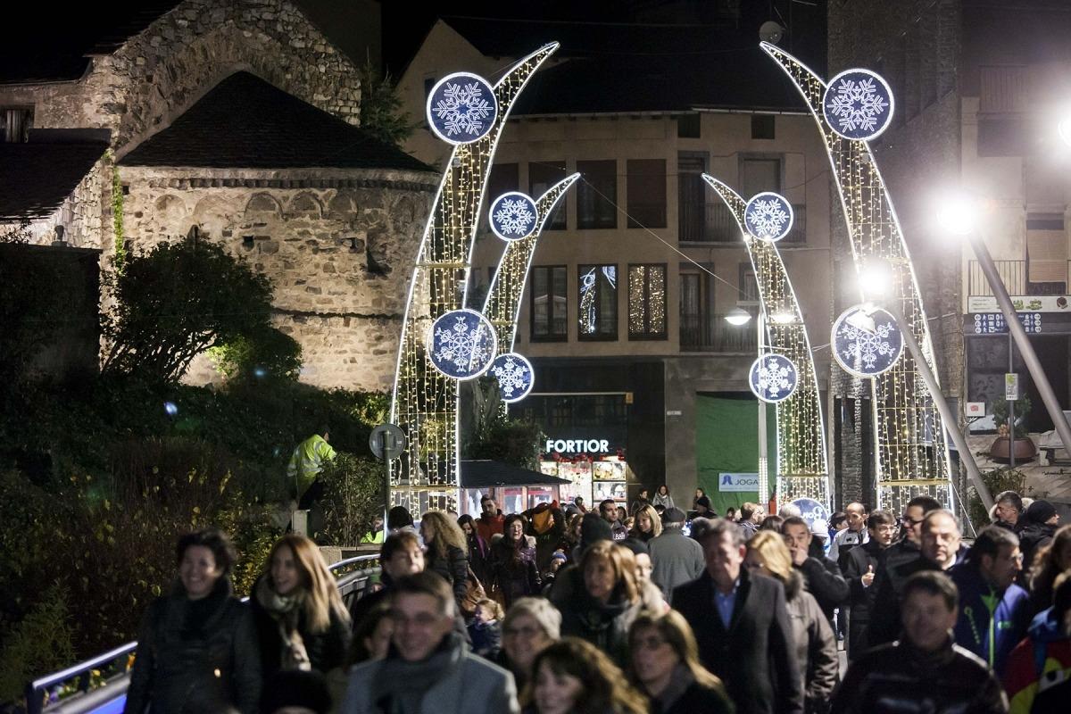 Queixes del centre històric per la falta d'il·luminació nadalenca