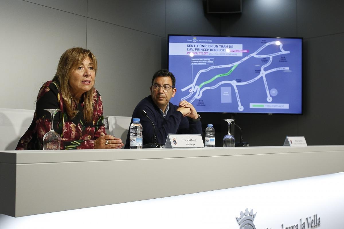 Conxita Marsol i Miquel Canturri han presentat la prova pilot.
