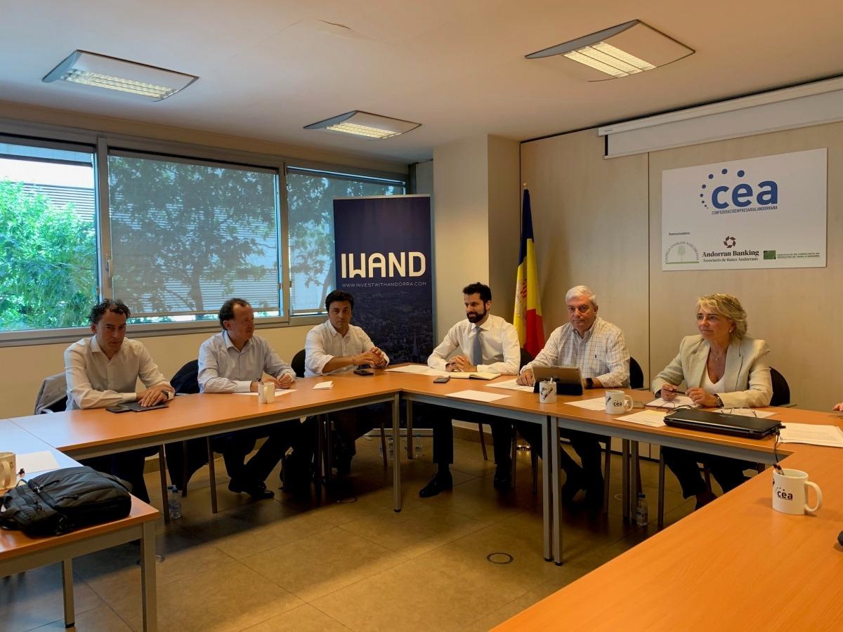 Reunió preparatòria de la junta directiva de la CEA.