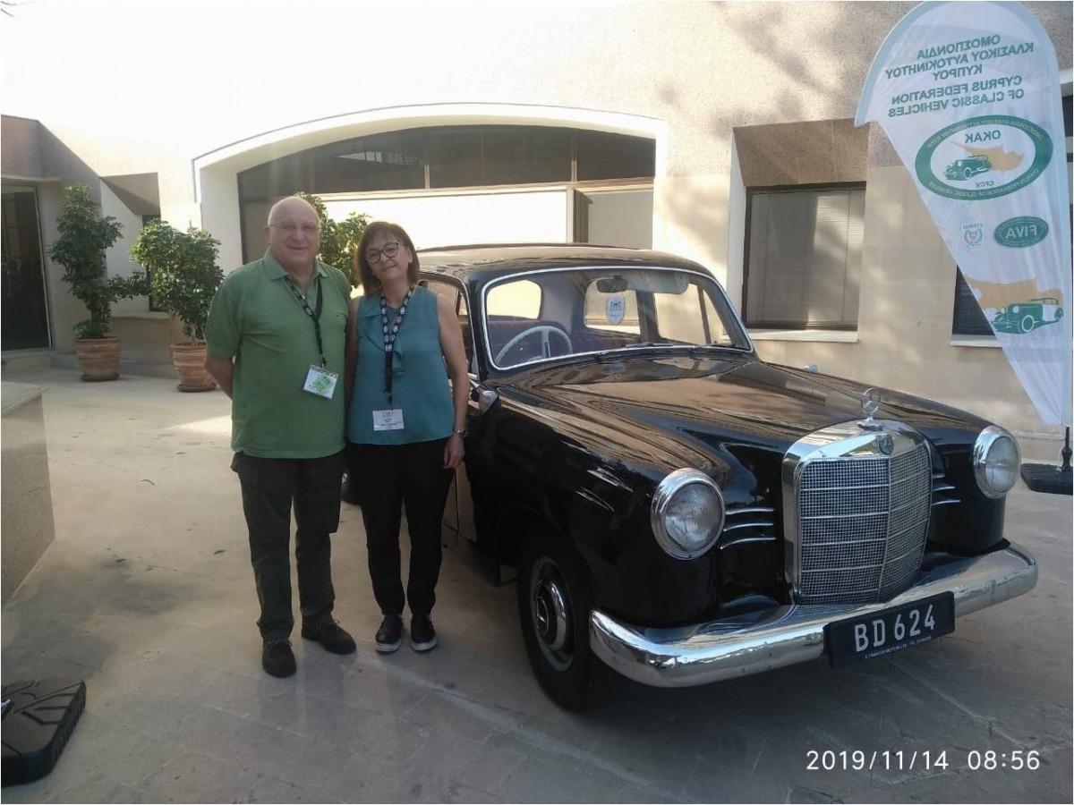 Lluís Dejuan i Paloma Cabeza representen l'AAVA a l'assemblea de la FIVA.