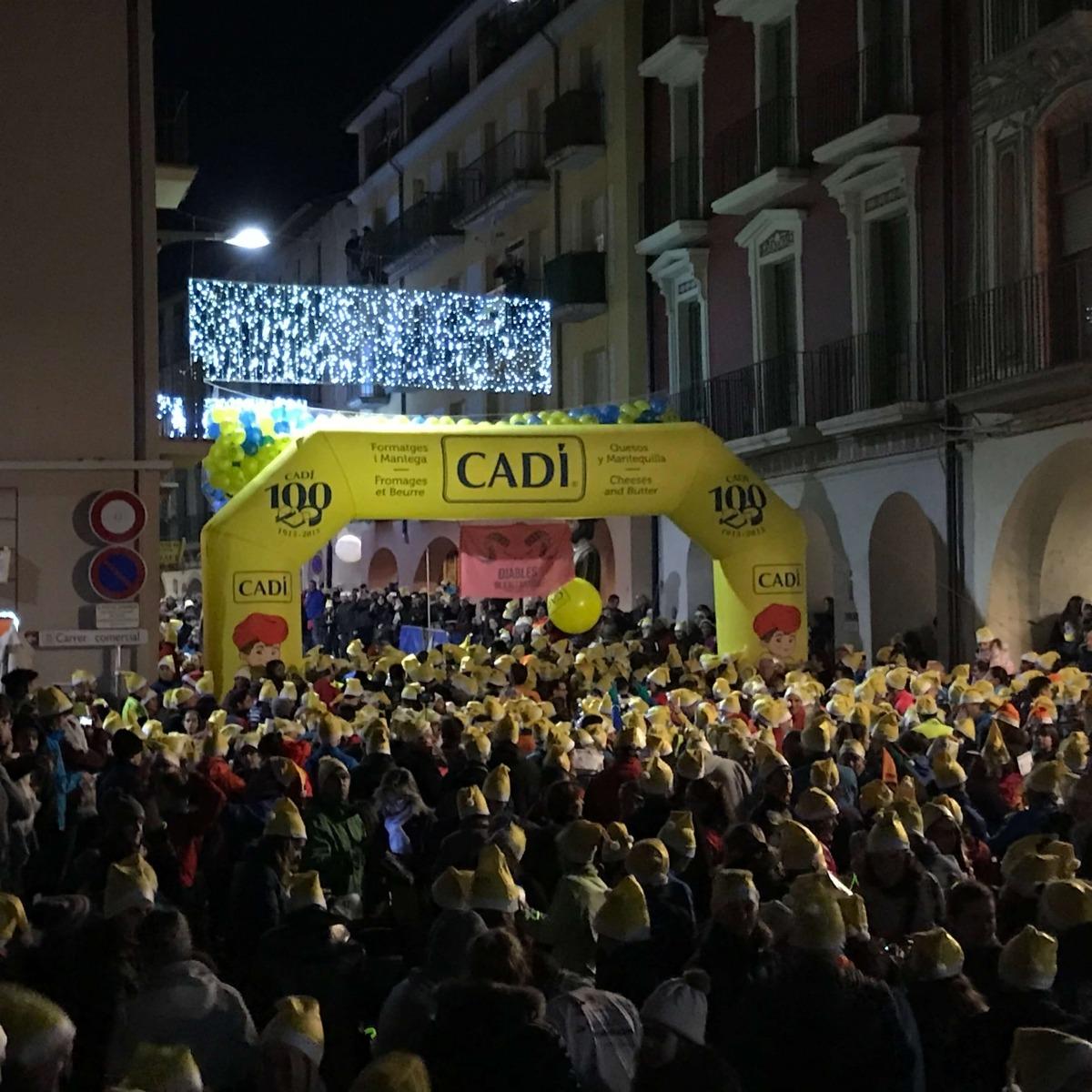 La Sant Silvestre bat el rècord d'inscrits amb 2.000 corredors