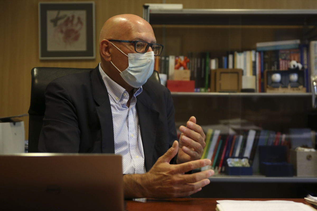 El rector de la Universitat d'Andorra, Miquel Nicolau.