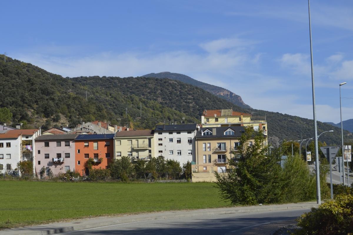 Vista del barri de Sant Antoni, a la Seu.