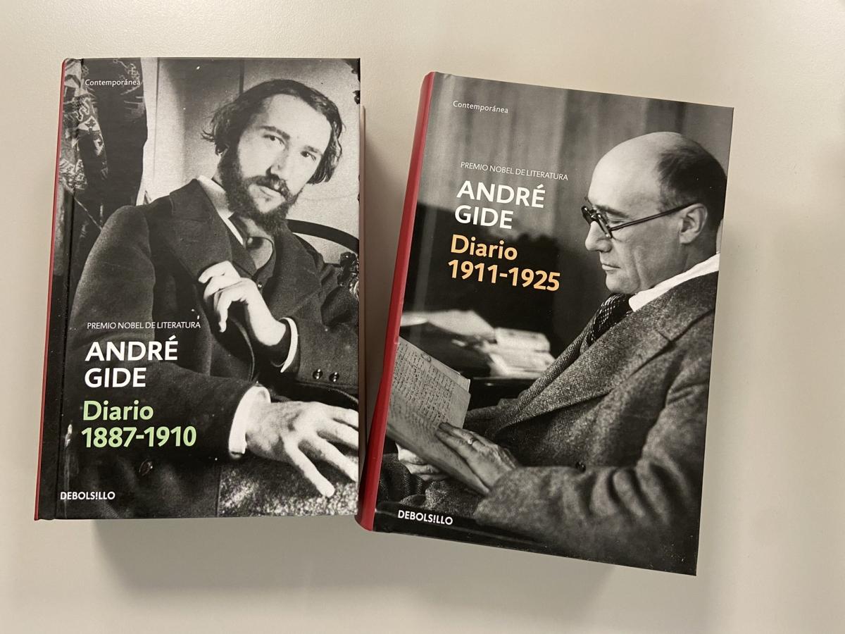 Els dos primers volums dels 'Diarios' traduïts per Ignacio Vidal-Folch.
