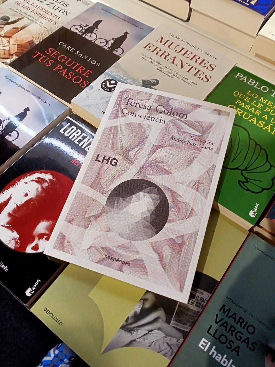 La traducció de 'Consciència' a l'FNAC.