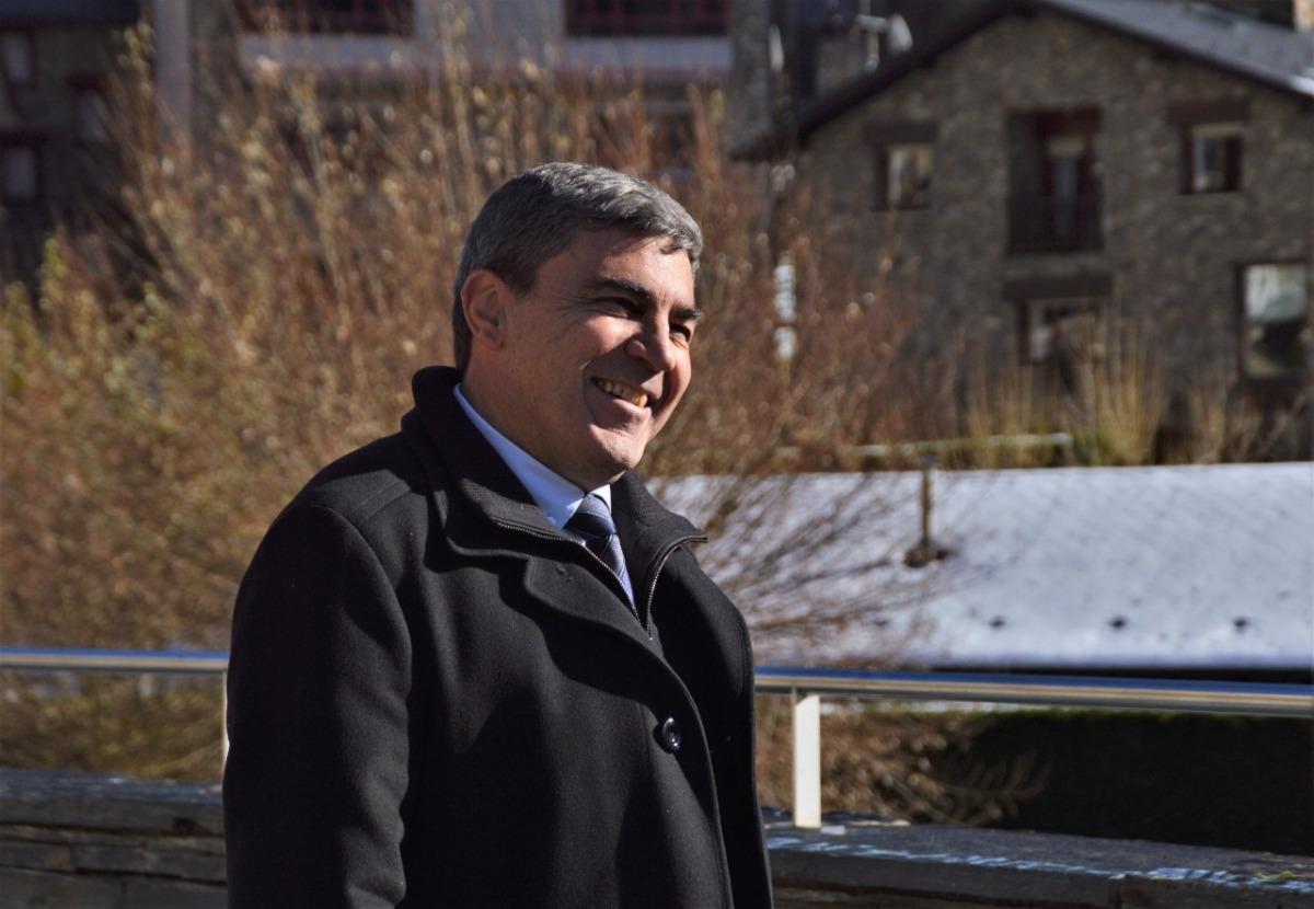 El candidat d'Objectiu Comú, Albert Torres.