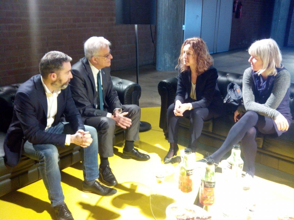 Calvó busca a Girona idees per millorar la gestió de residus