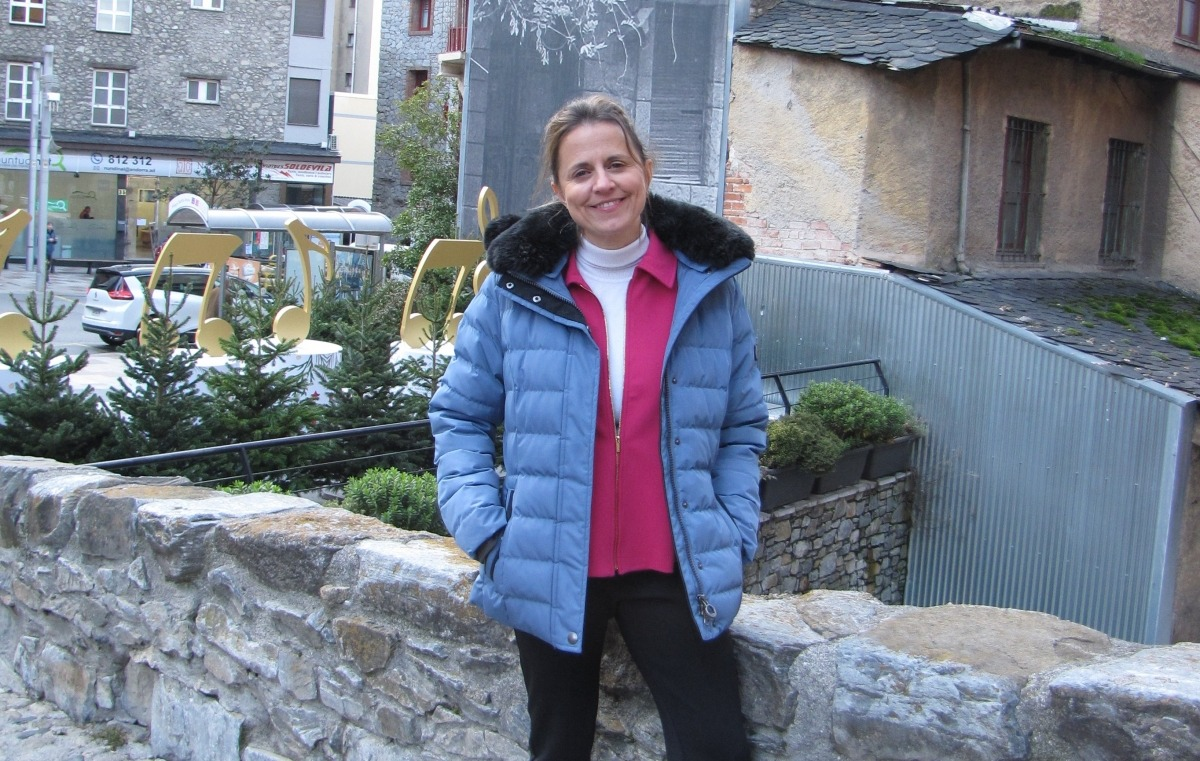La candidata del PS, Rosa Gili.