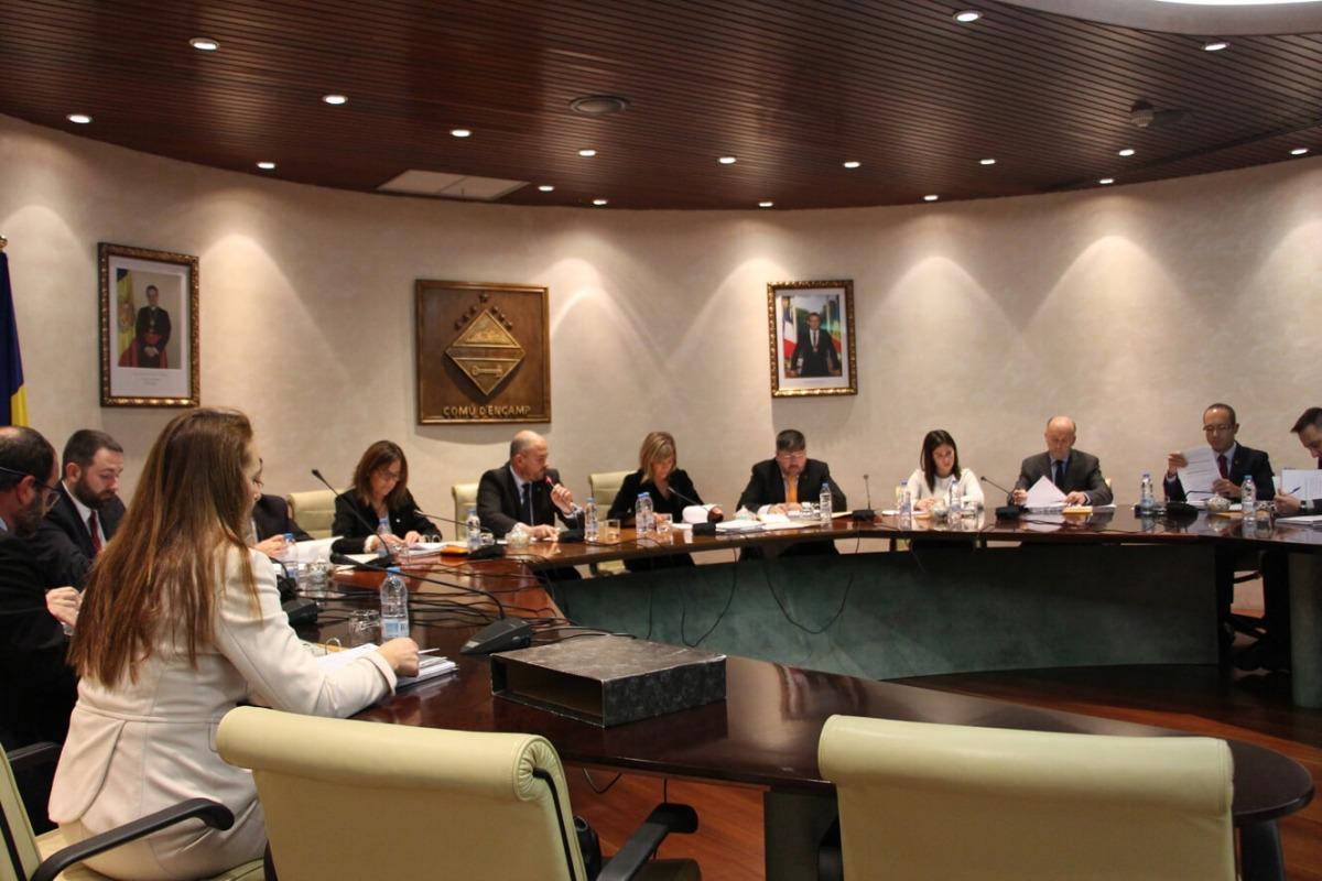 El Comú d'Encamp aprova un pressupost de 30,6 milions d'euros per al 2018 amb l'abstenció de l'oposició