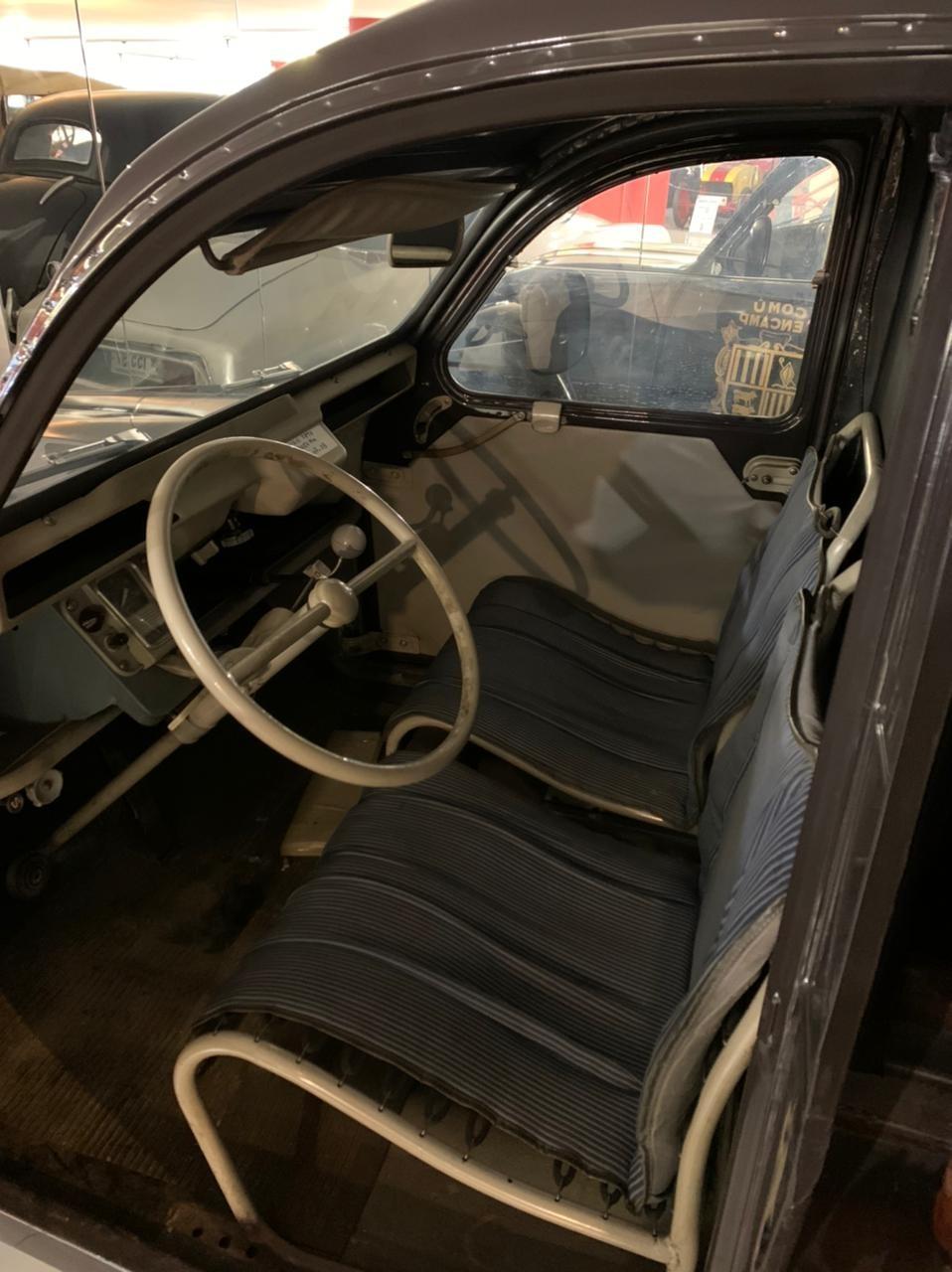 La cabina del conductor.