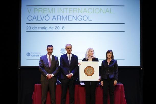 Dell va rebre el Premi Calvó Armengol el 2017.