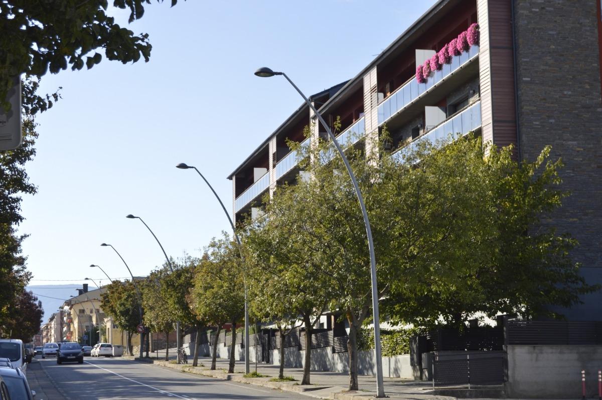 Un carrer residencial de la Seu.